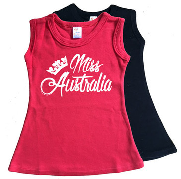 Miss Australia Day dress