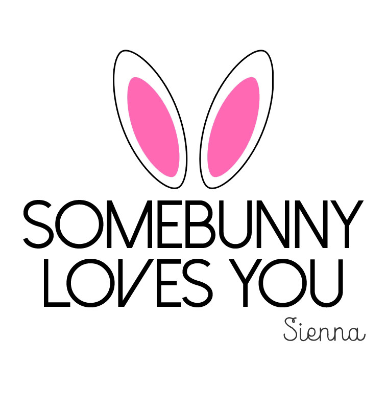 somebunny loves you baby tee personalised products word on baby. Black Bedroom Furniture Sets. Home Design Ideas