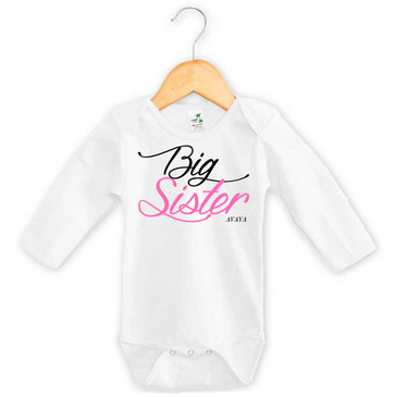 Personalised Big Sister Onesie
