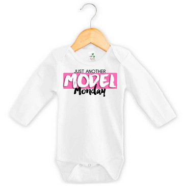 Just another model Monday onesie