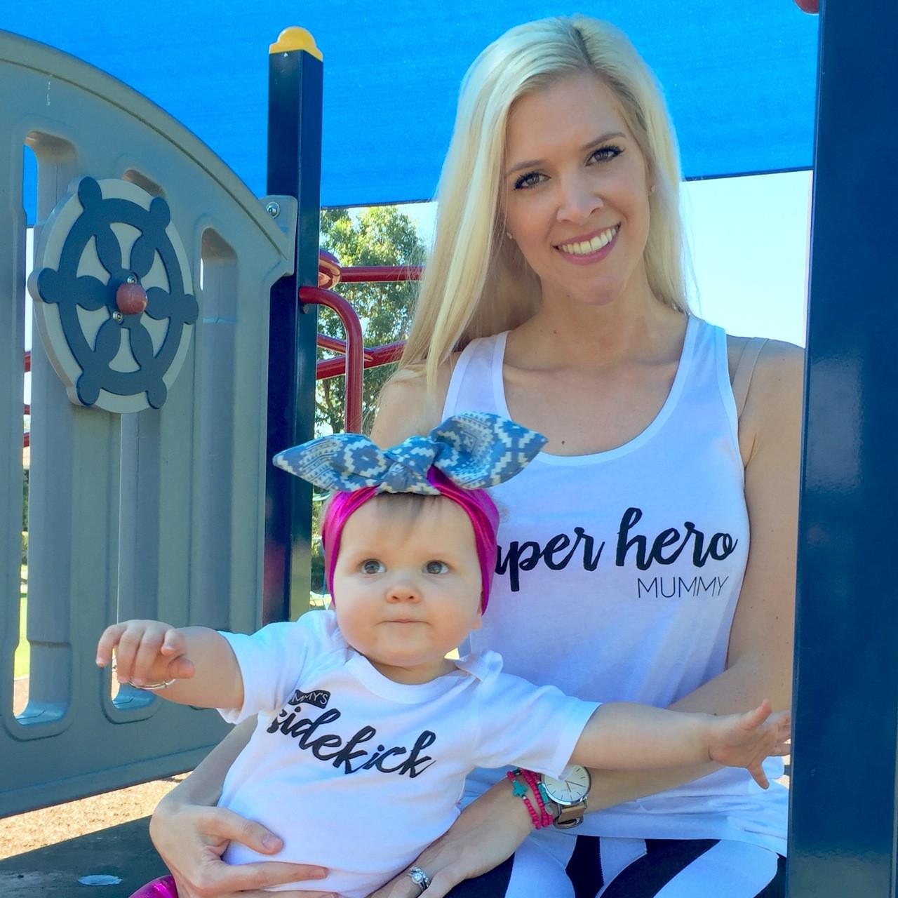 Mum S Sidekick Onesie Personalised Baby Products Word