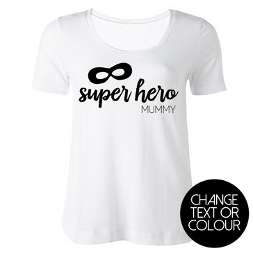 Super Hero Mummy Top