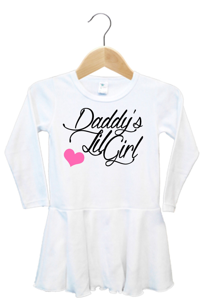 Daddy S Lil Girl Dress Custom Baby And Kids Clothing