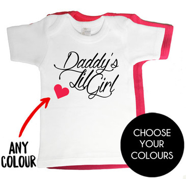 Daddy's Lil Girl Baby Tee