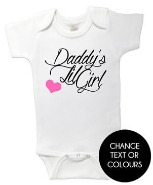 Daddy's Lil Girl onesie
