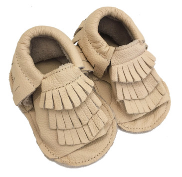 Summer Sand Moccasin Baby Sandals
