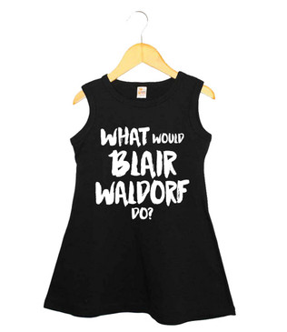 What would Blair Waldorf do? black dress