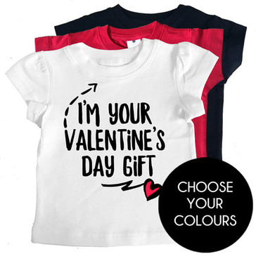 Valentine's Day Gift Girl Tee