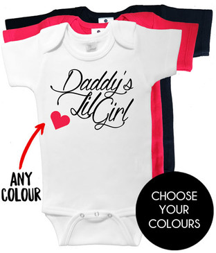 Daddy's Lil Girl onesies