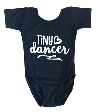 Tiny Dancer Black Leotard