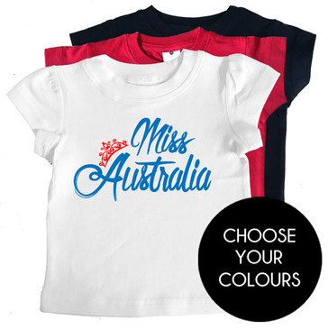 Miss Australia Kids Tees