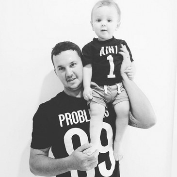 99 Problems Ain't 1 - Dad and Kid Tee Set