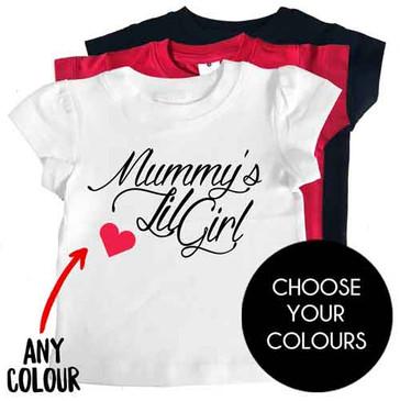 Mummy's Lil Girl T-shirts