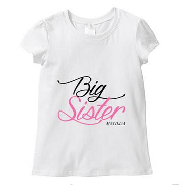 SALE Big Sister Matilda Tee - SIZE 5