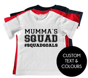 Mumma's Squad Squagoals Boy Tee