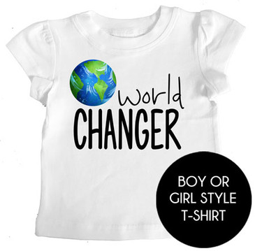 world CHANGER t-shirt
