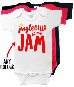 Jingle Bells is my JAM onesie