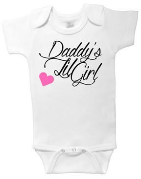 SALE Daddy's Lil Girl onesie - 6-12m