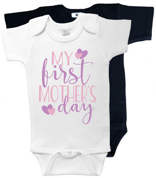 My First Mother's Day Onesies