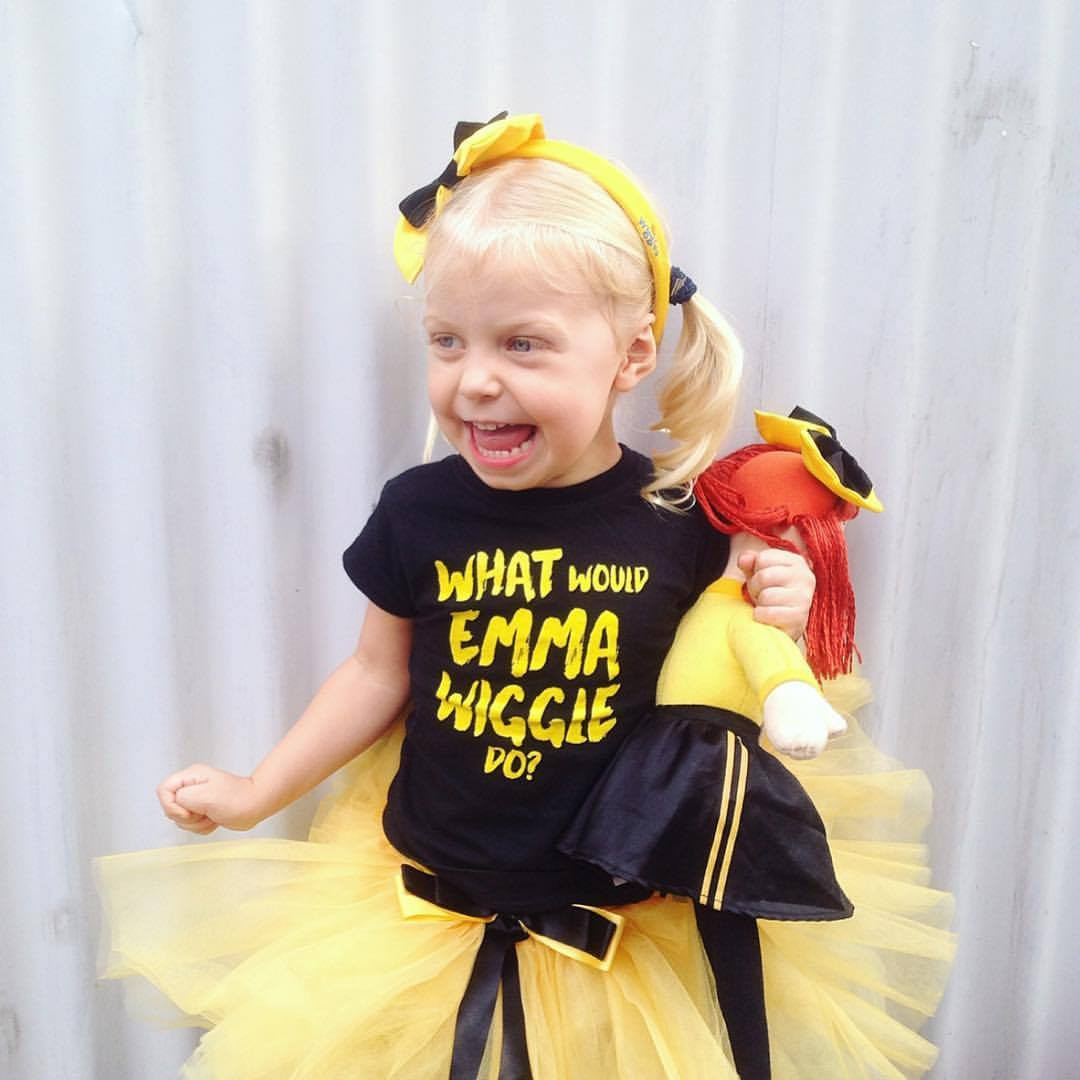 What Would Emma Wiggle Do T Shirt For Girls Word On Baby