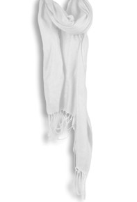 Pashmina Shawl in White