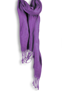 Pashmina Shawl in Purple