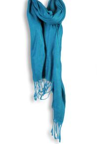 Pashmina Shawl in Blue