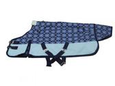 Blue Argyle Un-Lined