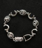 Horse Head & Shoe Bracelet
