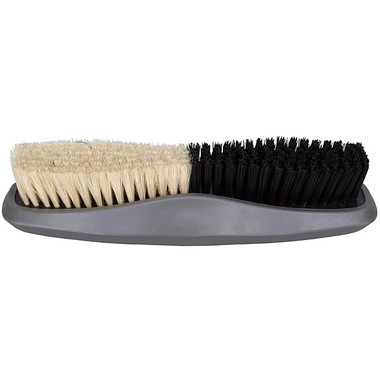 Firm bristles one end, soft the other