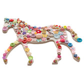 Dotty Buttons Horse