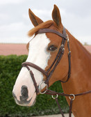 "Dy'on Working Collection ""Fancy"" Flash Noseband Bridle"