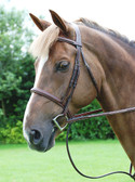 Dy'on Hunter Collection Cavesson Noseband Bridle