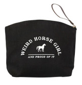Weird Horse Girl Make-Up Bag