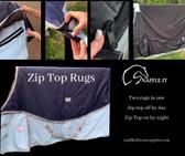 Zip Top features