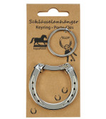 Key Ring - Carabiner Horse Shoe