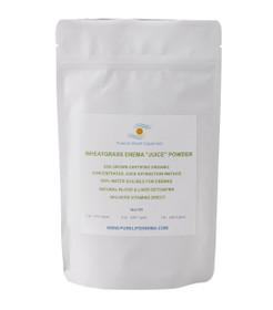 Certified Organic Wheatgrass Juice Powder Enema Wheatgrass