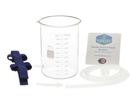 glass enema kit silicone enema nozzle enema bucket harness