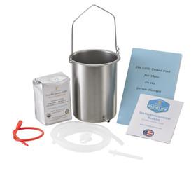 Coffee Enema Kit / Ultra Light Roast / Highest Detox Power / USA Stainless Steel