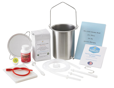 enema bucket stainless steel enema can potassium 3 enema tubing enema booklet enema nozzle coffee enema strainer