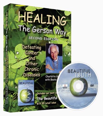 Healing the Gerson Way A Beautiful Truth DVD Book