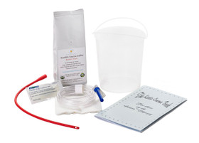 Coffee Enema Kit - 1.5 Qt Plastic Bucket