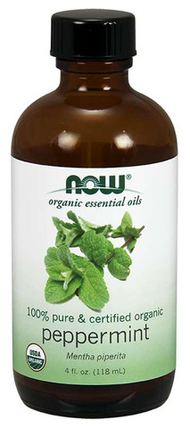 peppermint essential oil organic essential oil therapeutic essential oil NOW peppermint oil