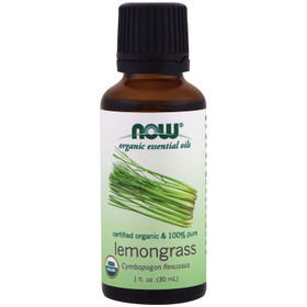 organic lemongrass oil Now 1 ounce