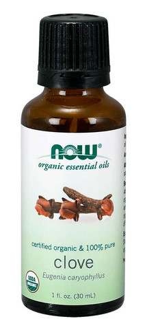 organic clove oil Now clove oil 1 oz bottle
