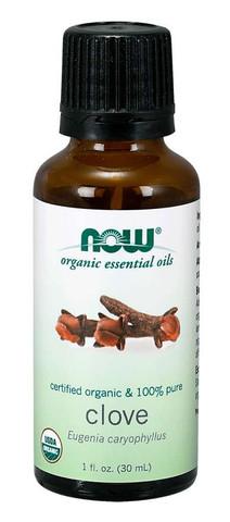 organic clove oil Now clove oil 1 oz bottle