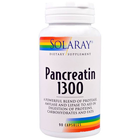 solaray pancreatin 1300