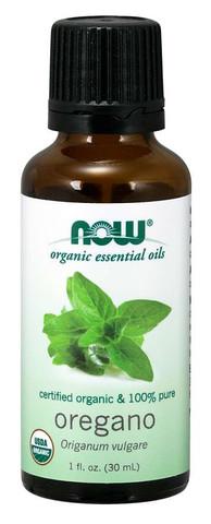Organic Oregano oil NOW FOODS oregano oil