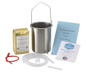 organic enema coffee light roast enema coffee stainless steel enema bucket