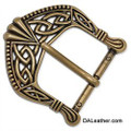 Celtic Buckle - Antique Brass